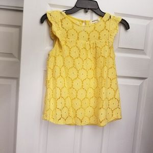 NWOT Monteau Sunshine Yellow Top in XS